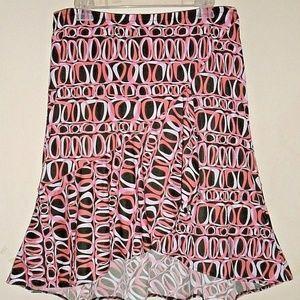 Beautiful Flared Bottom Summer Fun Sexy  Skirt